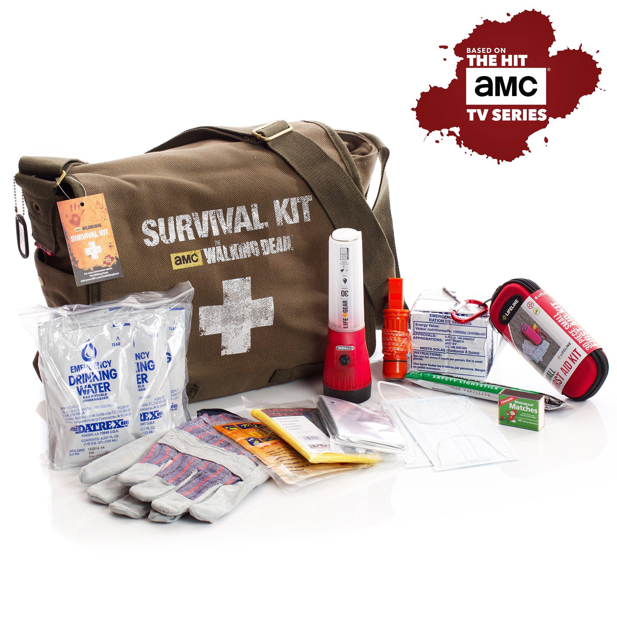 amc the walking dead survival first aid kit