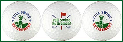 retirement gold ball gift set