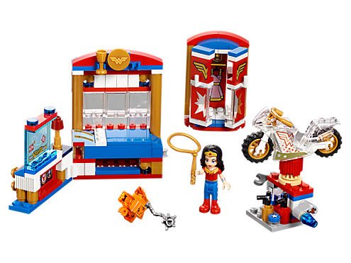 wonder woman dorm lego set
