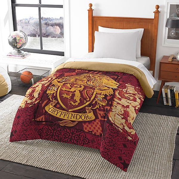 harry poter house comforter