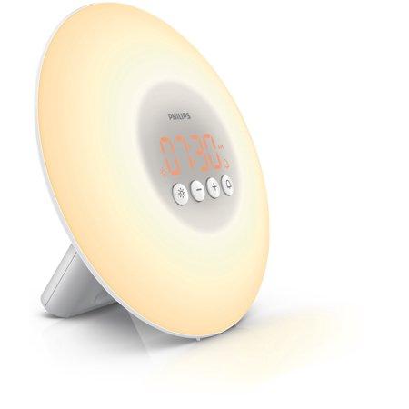 - Philips Wake-Up Light Alarm Clock HF3500 with Sunrise Simulation