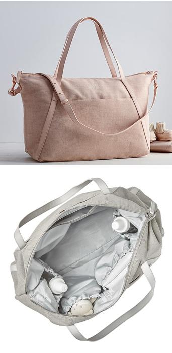 Designer Diaper Bag by Monique Lhuillier