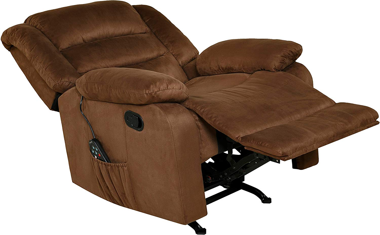 relaxzen massage rocker recliner