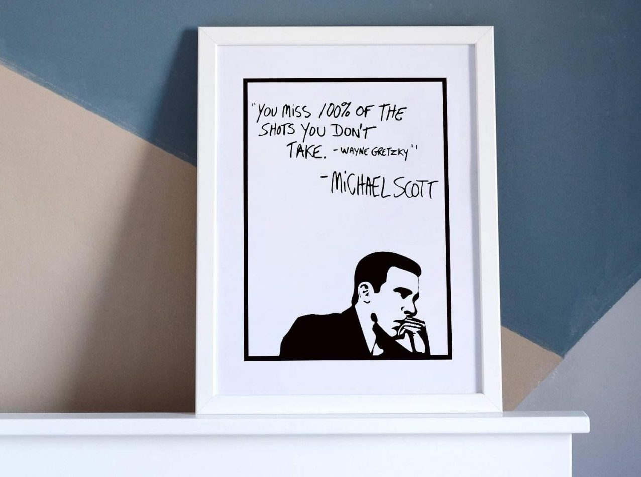 The Office Motivational Quote Posters