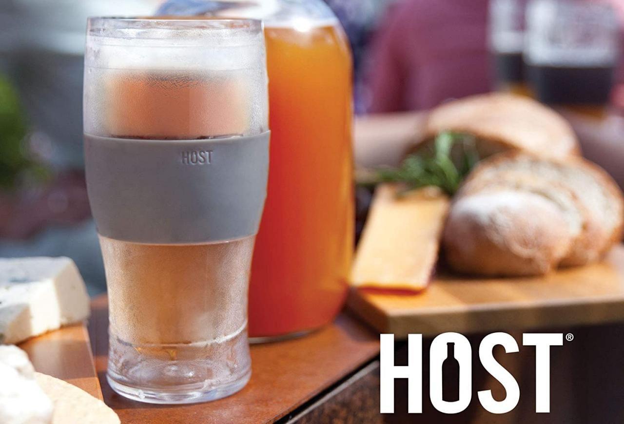 host beer glasses