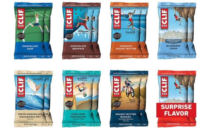 cliff energy bars