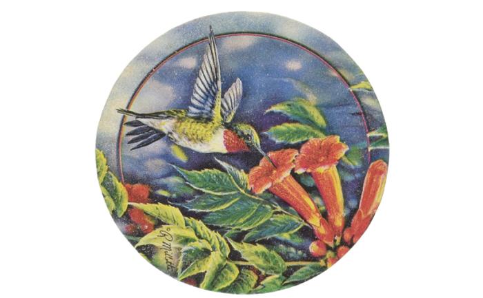 hummingbird coasters
