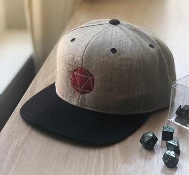 D20 Snapback D&D Hat