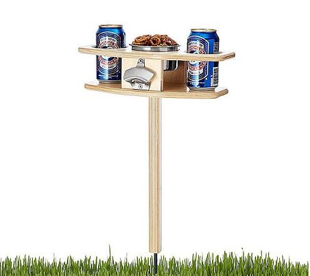 outdoor beer table