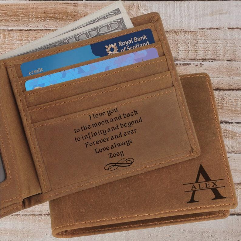Custom Engraved Wallet | Etsy